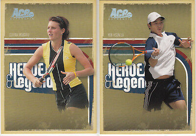 2006 Ace Authentic  - Yen Hsun Lu + Corina Morariu  ed.100