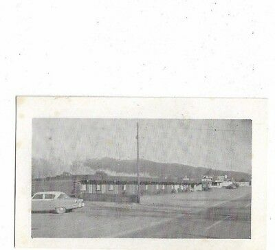 1a - Vintage 1950's B&W Photo Business Card - The McCoy Motel BUENA VISTA CO