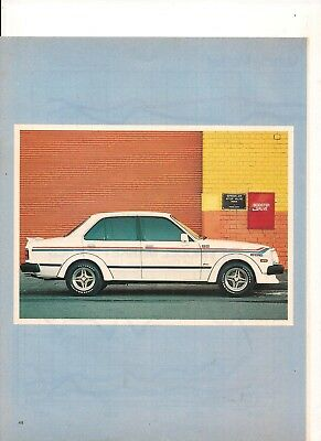 Rare Original 1981 4 Page Feature On The Country Dealer Team Holden Gemini
