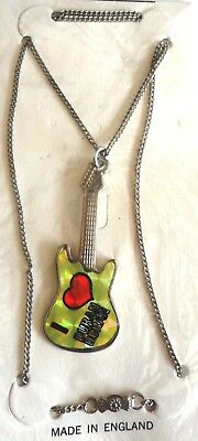 DURAN DURAN vintage necklace / pendant in original packaging.  Made in England