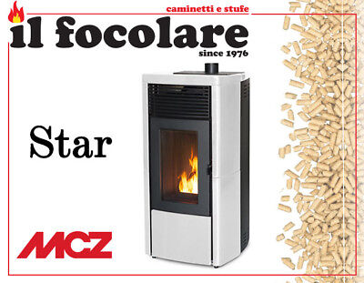 Stufa Pellet Mcz Star 8 Kw Comfort Air Canalizzabile Up Maestro - Pellet Stove -