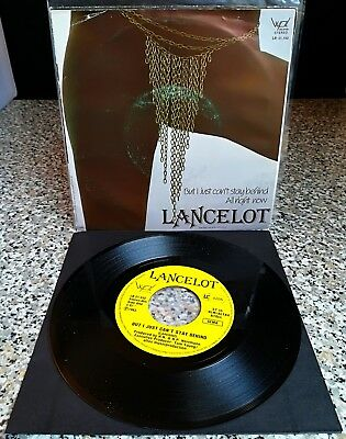 """Lancelot - 'But I Just Can´t Stay Behind' / Single / 7"""" / Germany / RARE"""