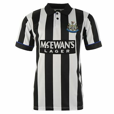 Score Draw Hommes Maillots Rétro Manches Courtes Newcastle United - 1995