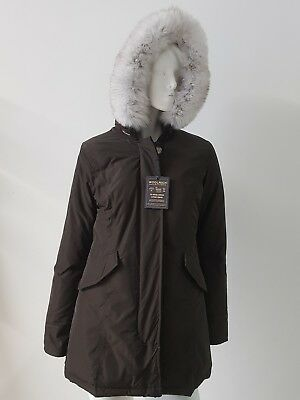 Woolrich Parka Women's Jacket with Brown Size XL -25% Occasion