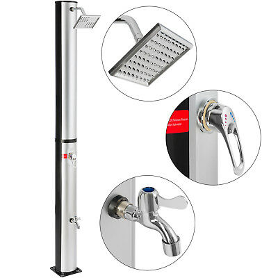 Arebos Solar Shower Garden Pool Outdoor Camping Shower 37 L