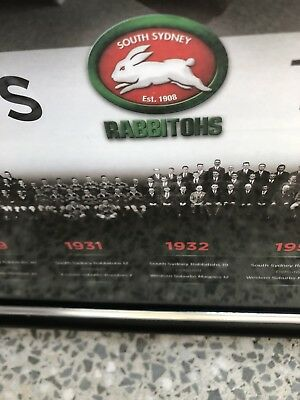 South Sydney Rabbitohs..The Premiership Years Memorabilia. Ideal For Man Cave