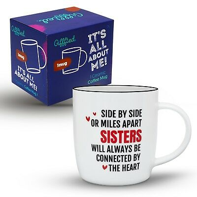 Best Sister Ever Gift Coffee Mug Birthday Unique Christmas Gifts For Her