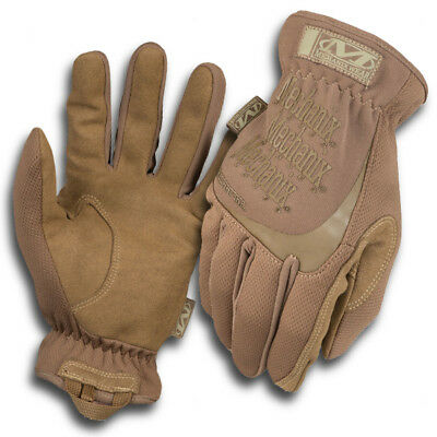 Handschuhe Mechanix FastFit Coyote Wüstentarn Tactical Militär Paintball MFF-72