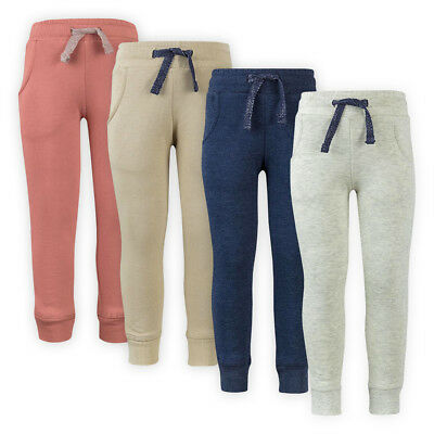 Girls Kids Comfort Cotton Sweatpants Athletic Joggers Tracksuit Jogging Bottoms