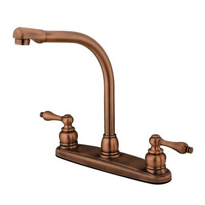 Kingston Brass Victorian High Arch Kitchen Faucet