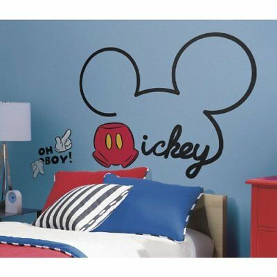 All About Mickey Peel and Stick Giant Wall Decals