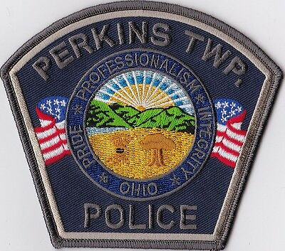 Perkins TWP Police Patch Ohio OH NEW!!