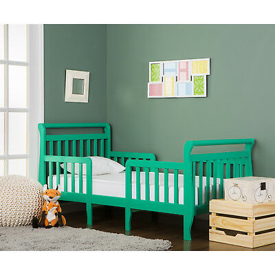Dream On Me Emma 3 in 1 toddler bed  convertible Kit in emerald