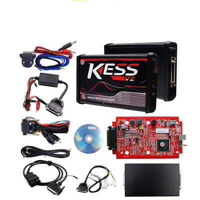 New RED KESS V2 V5.017 EU Master Online 100% No Tokens KtagV7.020+4Gift