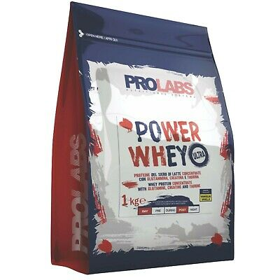 PROLABS Power Molke 1kg Protein Molke concentrate und isoliert + vit b6