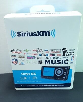 Sirius XM (XEZ1V1) Satellite Radio Onyx EZ Vehicle Kit NEW In Box NIB