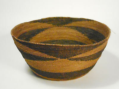 ANTIQUE 1890's NATIVE AMERICAN BASKET-NW COAST-VERY FINE WEAVE-Pre-1900's