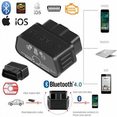 Bluetooth V4.0 Car OBD 2 II Code Reader Auto Diagnostic Scanner For IOS iPhone