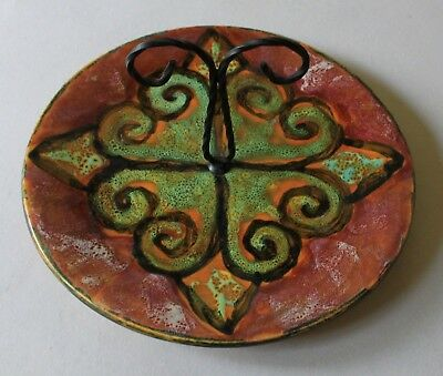 Plateau A Fromage En Faience Yvon Roy