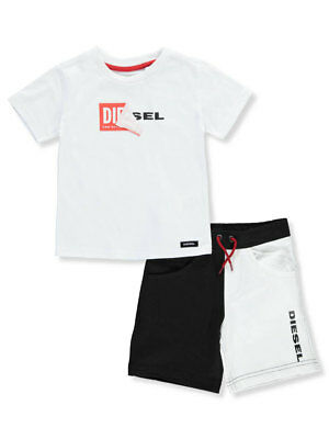 Diesel Baby Boys' 2-Piece Short Set Outfit