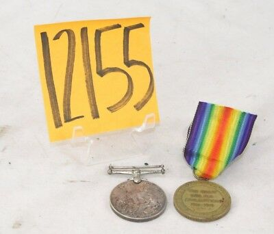 Ww1 Named British Victory Medals