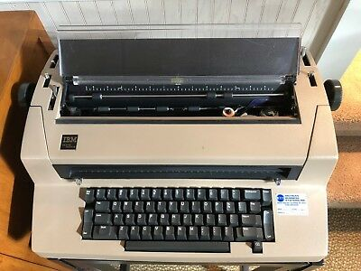 VTG IBM Correcting Selectric III Typewriter W/ Film Ribbons Plus Ball Elements
