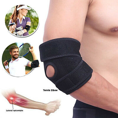 Tennis Elbow Support Brace Golfers Arm Strap Epicondylitis Arthritis Relief Gym