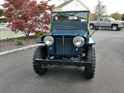 1946 Willys CJ2A JEEP 1946 WILLYS CJ2A JEEP