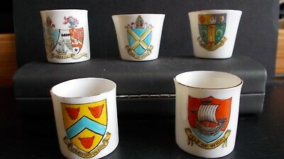 Small Collection Of Goss Miniture Mugs&cups