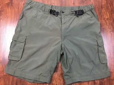 Boy Scouts of America Switchback Green Cargo Supplex Nylon Classic XXL Shorts
