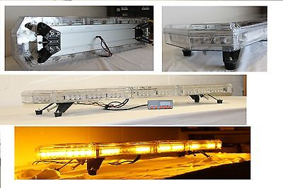 led recovery lightbar 24v amber strobe light beacon 1500mm stop & indicators