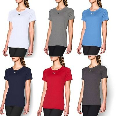 Under Armour Women's NEW UA 1268481 Locker Crew Neck Short Sleeve T-Shirt Tee