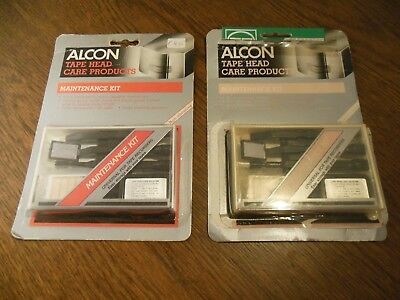 * NEU * ALCON Tonkopf Reinigungsset - Tape Head care maintenance kit