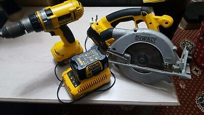 Dewalt xrp drill and circular saw