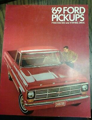 1969 Ford Pickups-- Full Line Sales Brochure