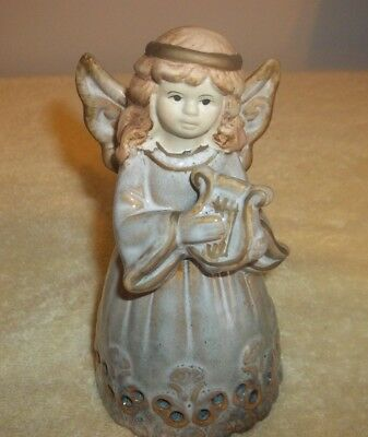 """A PORCELAIN ANGLE BELL 6"""" Tall VERY NICE PIECE"""