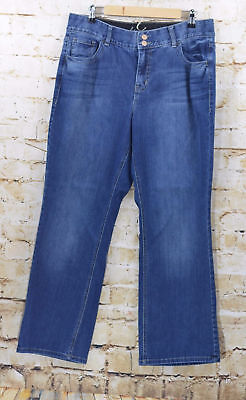 Lane Bryant Women's Jeans Size 14 Short Boot Cut Tighter Tummy Technology