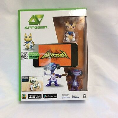 New Appgear Akodomon Game With Figures For Iphone Ipad And Android Sealed Nib