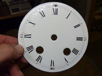 Good Old French - German Clock  Enamel Dial (Ak)