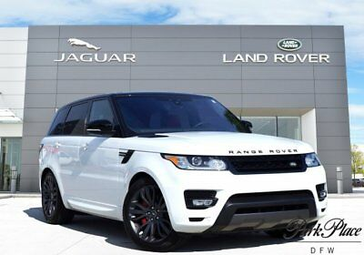 Land Rover Range Rover Sport  Autobiogragphy Dynamic Blind Spot Monitor Panoramic Roof Config Ambient Lighting