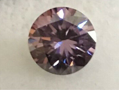 Gorgeous AAA 1.33cts VVS 7mm Pink Color LOOSE ROUND MOISSANITE Gemstone