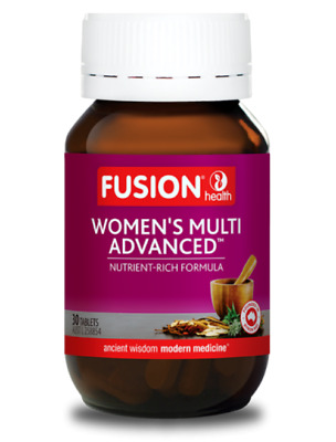 Fusion Health - Women's Multi Advanced - Vitamin And Mineral Plus Herb Formula
