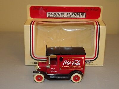 Lledo London Days Gone Coca Cola Red Vehicle With Box