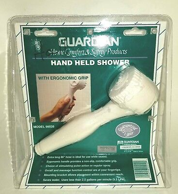 Guardian Hand Held Shower with Ergonomic Handle