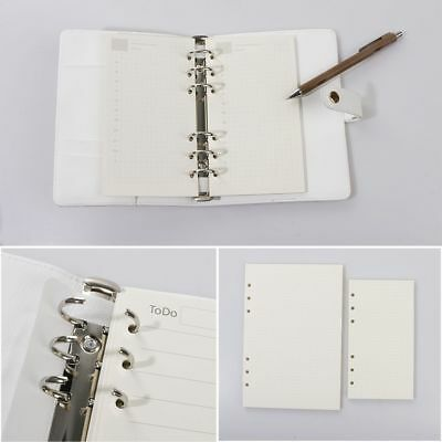 Classic Notebook Notepad Blank Writing Paper Planner Diary Sketch Graffiti