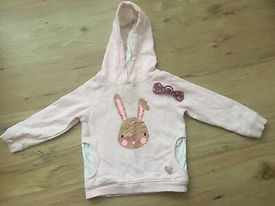 Target girls Warm jumper With Hoodie Size 2 Free Hairband**
