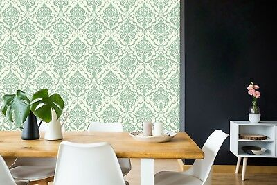 3D Green Floral Art 729 Wallpaper Mural Paper Wall Print Indoor Murals CA Summer