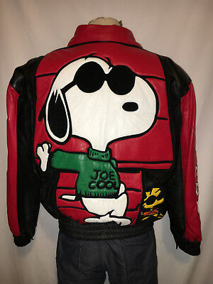Snoopy Joe Cool Leather Jacket-Very Cool!!