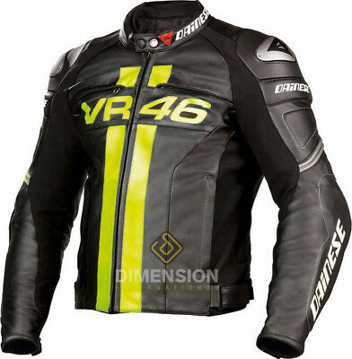 Valentino Rossi Style  Motorbike / Motorcycle Leather Jacket