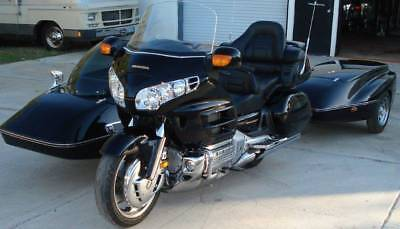 2002 Honda Gold Wing  2002 Honda Gold Wing with Hannigan Sidecar and Luggage Trailer ONLY 23K Miles